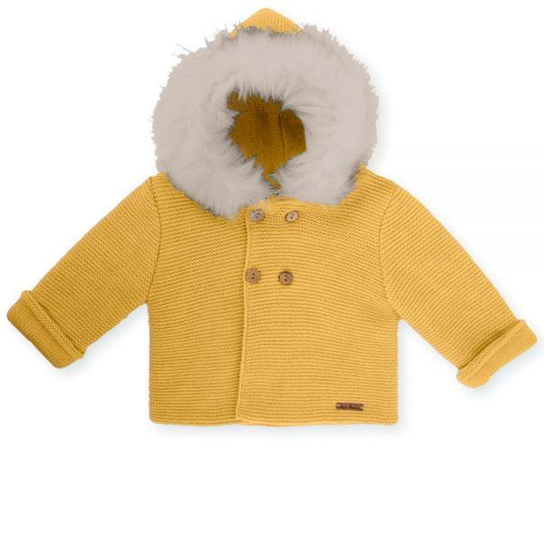 Abrigo con capucha de pelo Mac Ilusión