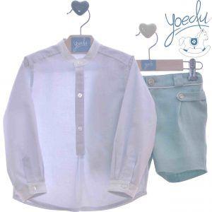 Conjunto camisa y bermuda Yoedu