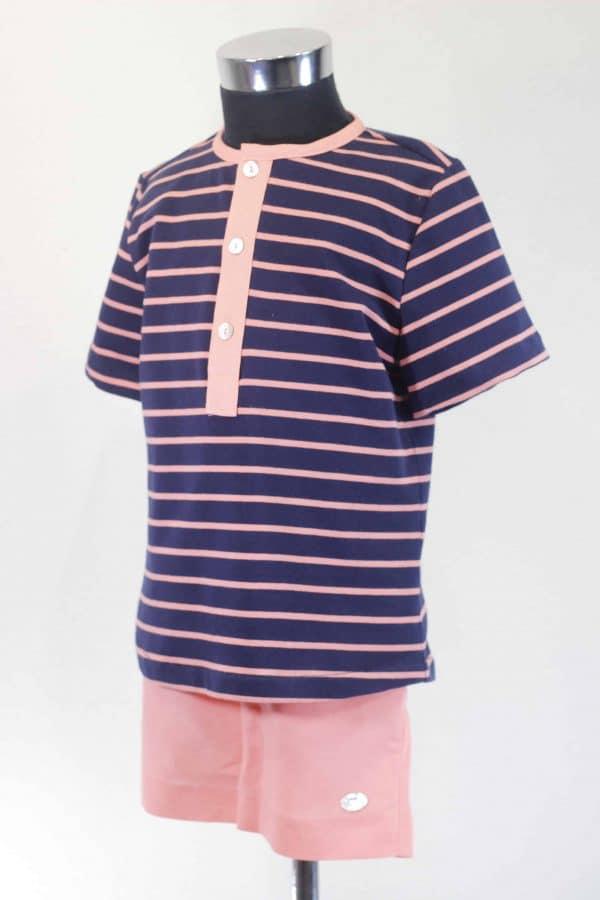Conjunto camisa y pantalón Basmarti
