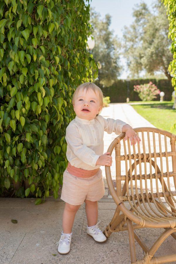 Conjunto ceremonia bebe niño Dolce Petit