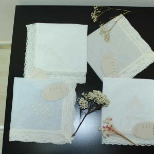 Pañuelos seca cabezas de bautizo