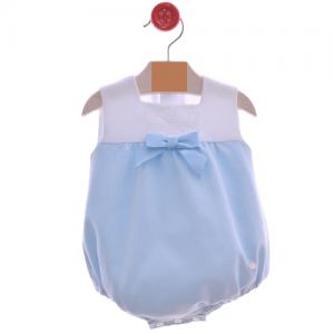Pelele de bebe azul
