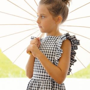 Pichi a cuadros vichy Eve Children modelo