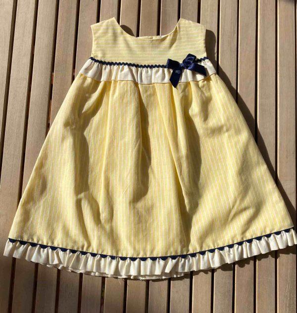 Vestido amarillo Miranda