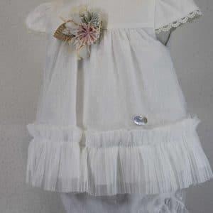 Vestido de ceremonia de bebe Basmarti