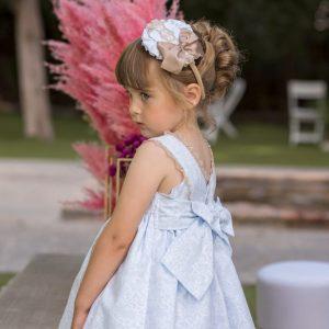 Vestido de niña Dolce Petit atrás