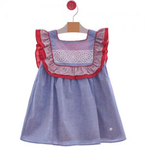 Vestido infantil familia Roma