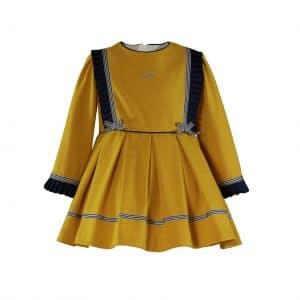 Vestido mostaza Miranda