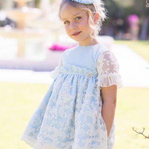 Vestido niña azul Dolce Petit