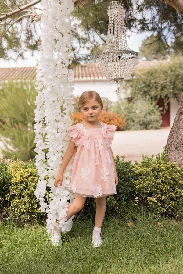 Vestido rosa Dolce Petit
