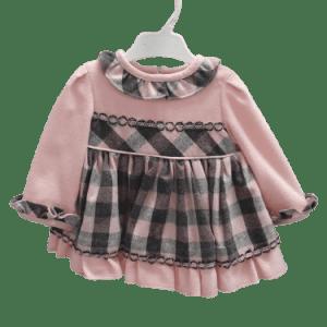Vestido rosa Miranda