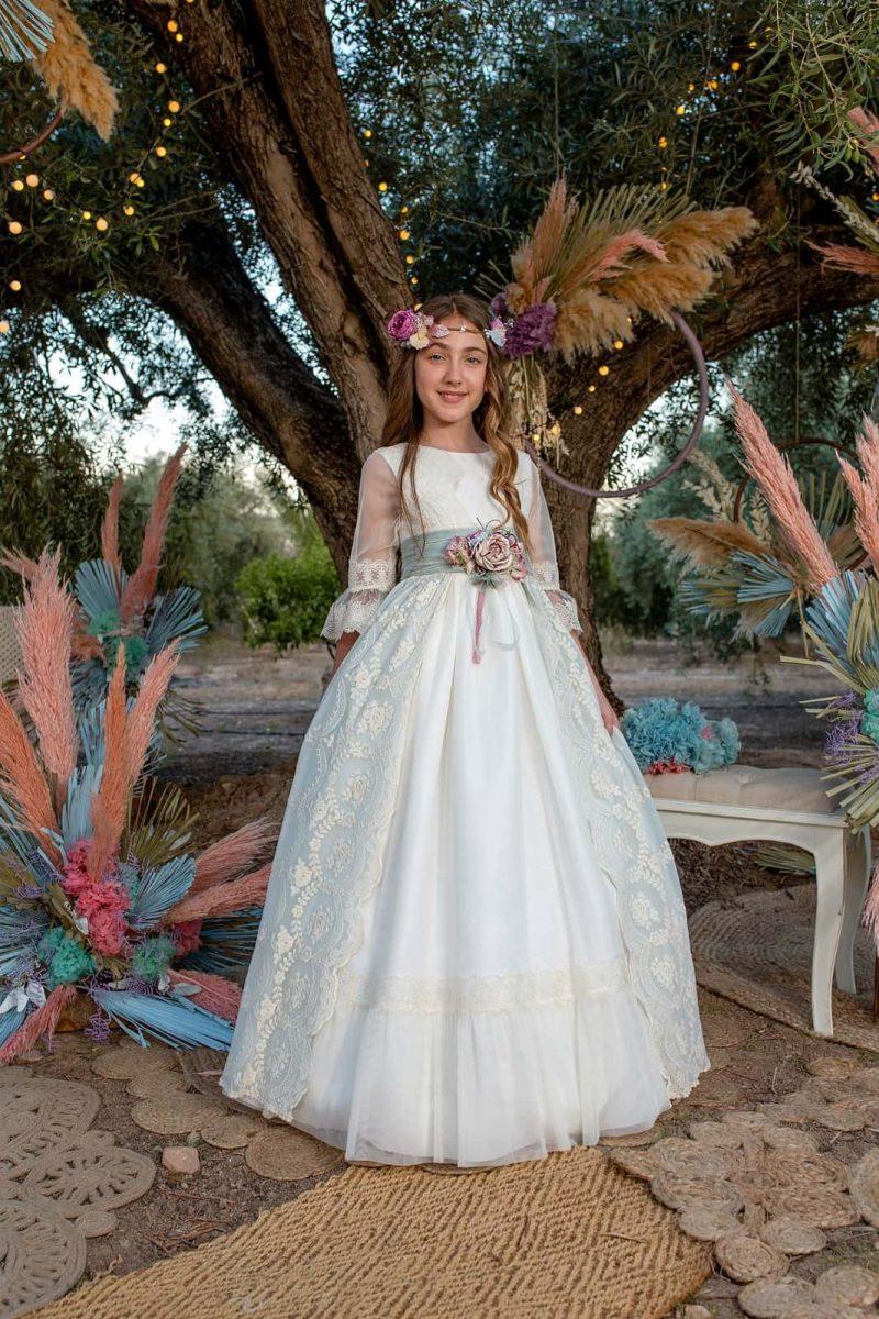 Vestido blanco comunión Lilus